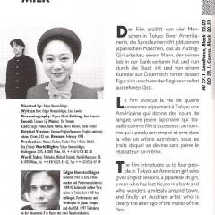 34th solothurner filmtage 26-31.1.1999